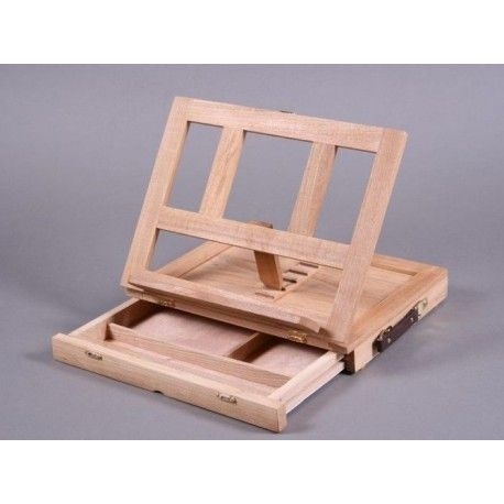 Book stand with drawer