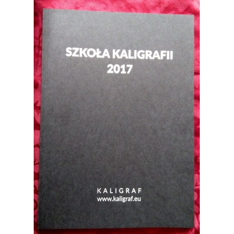 Kropkowany notes Kaligrafa