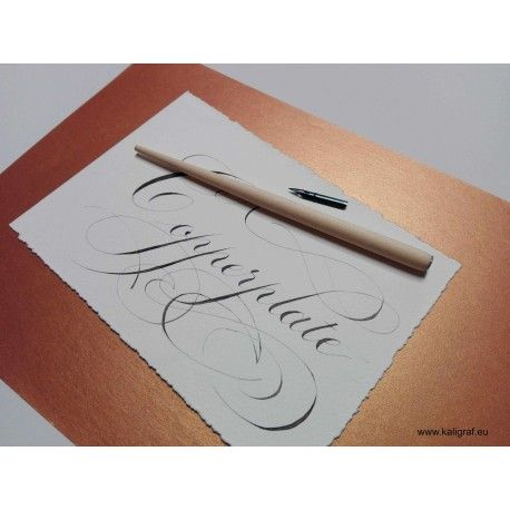 Zestaw do kaligrafii studenta