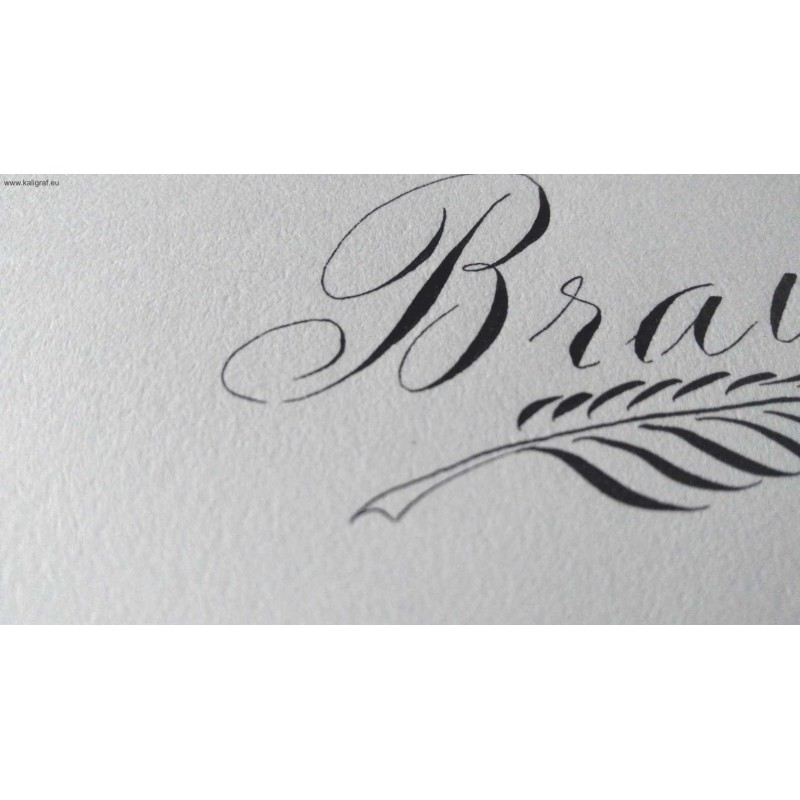 Brause Calligraphy Pad White Sheets