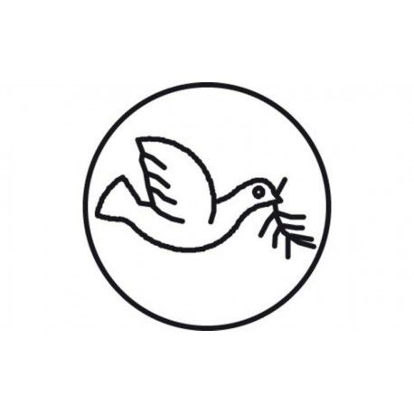 Brass Seal with a Pigeon