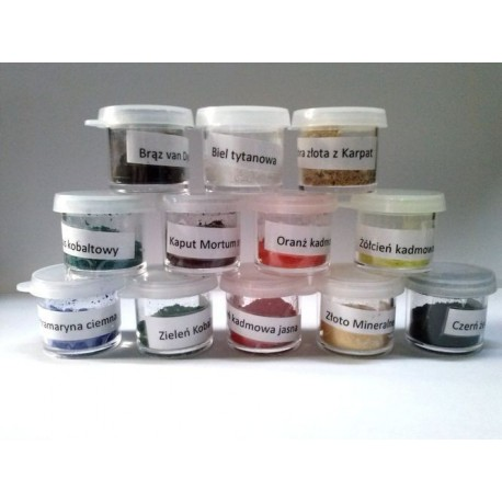 Set Pigments with Palette