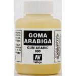 Guma arabska w płynie