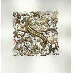 Illuminated Letter S