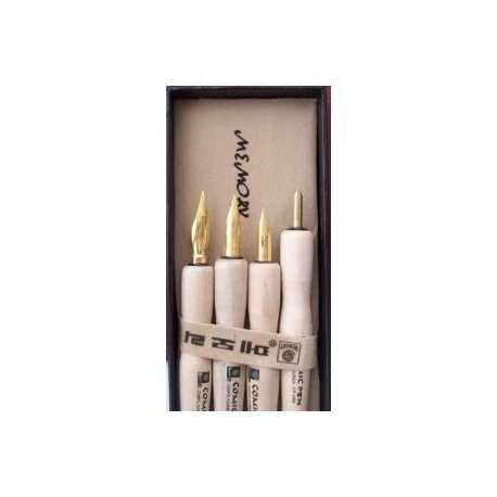 Set of 4 nib holder 8