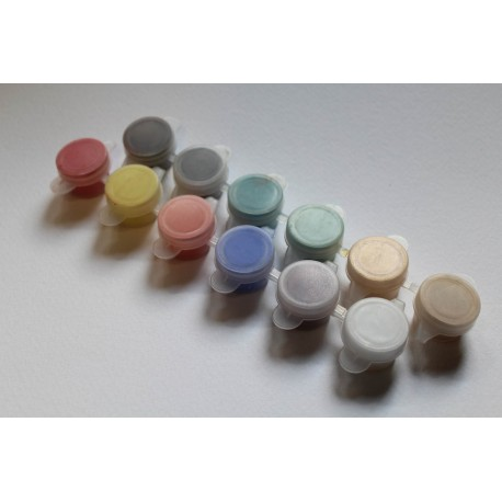 Set mini - pigments 12 colors