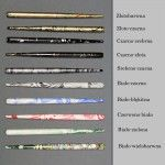 Standard Round Penholder - Colour Marble