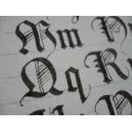 Oryginalne wzorniki kaligraficzne