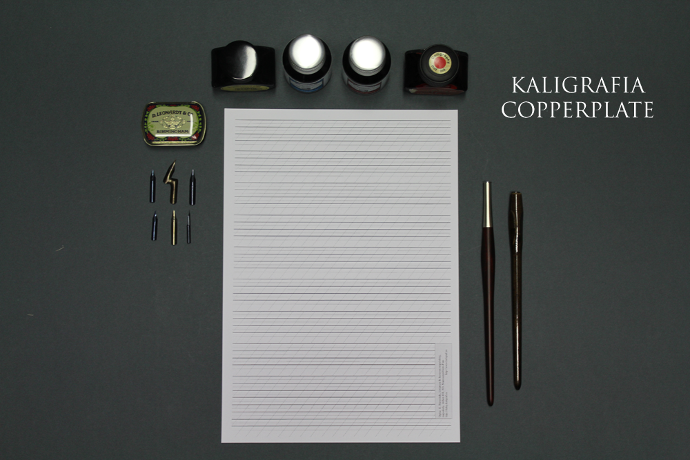 Kaligrafia copperplate